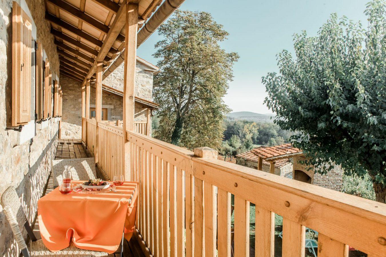 Balcony Asa Residence Private Villa Kras Slovenia