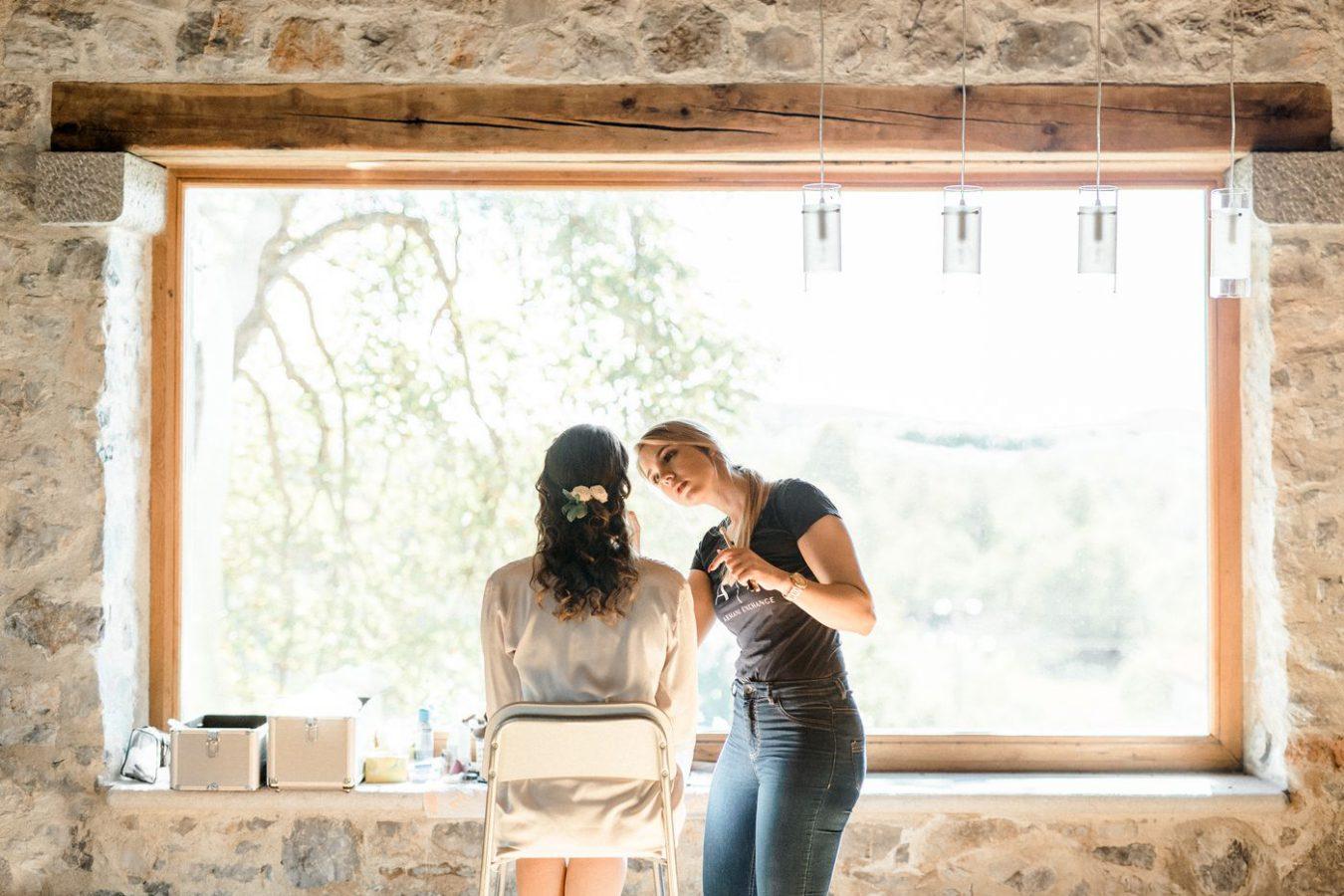 Wedding Make Up Asa Residence Private Villa Kras Slovenia