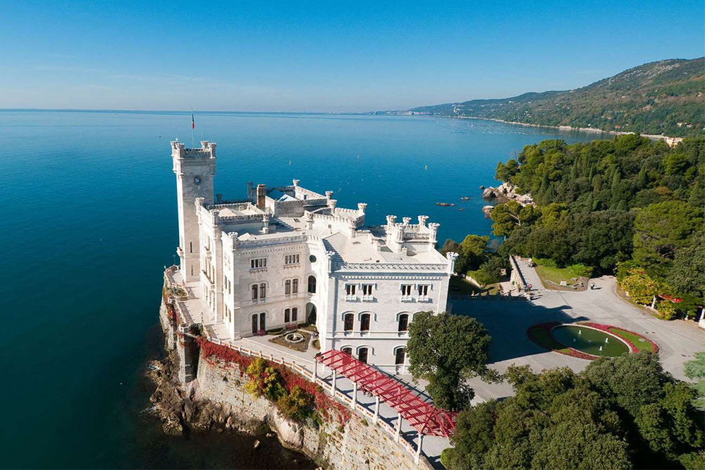 Local Excursions Duino Castle Asa Residence Private Villa Kras Slovenia