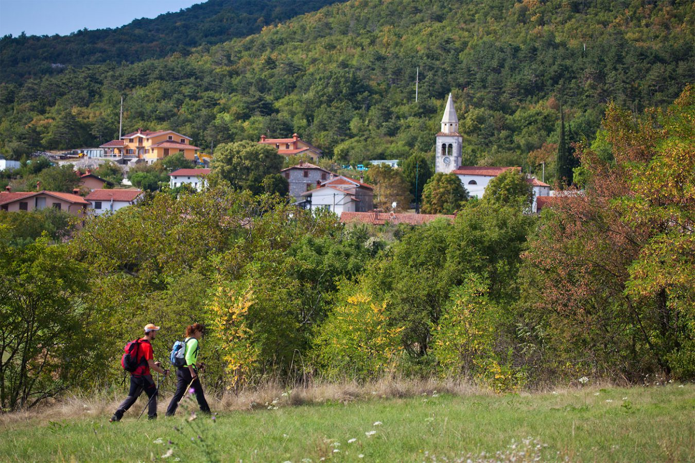 Active Holidays Hiking Asa Residence Private Villa Kras Slovenia