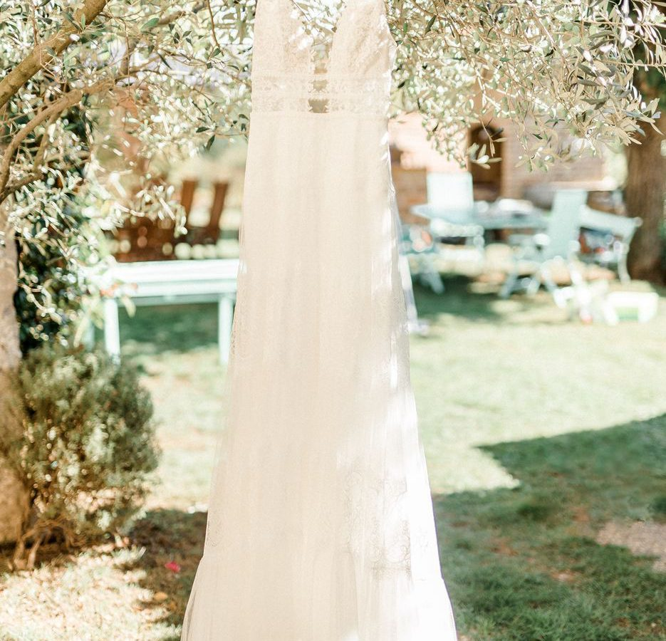 Wedding dress ASA Residence Private Wedding Villa Kras Slovenia