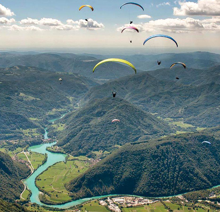 Active Holidays Paragliding Asa Residence Private Villa Kras Slovenia